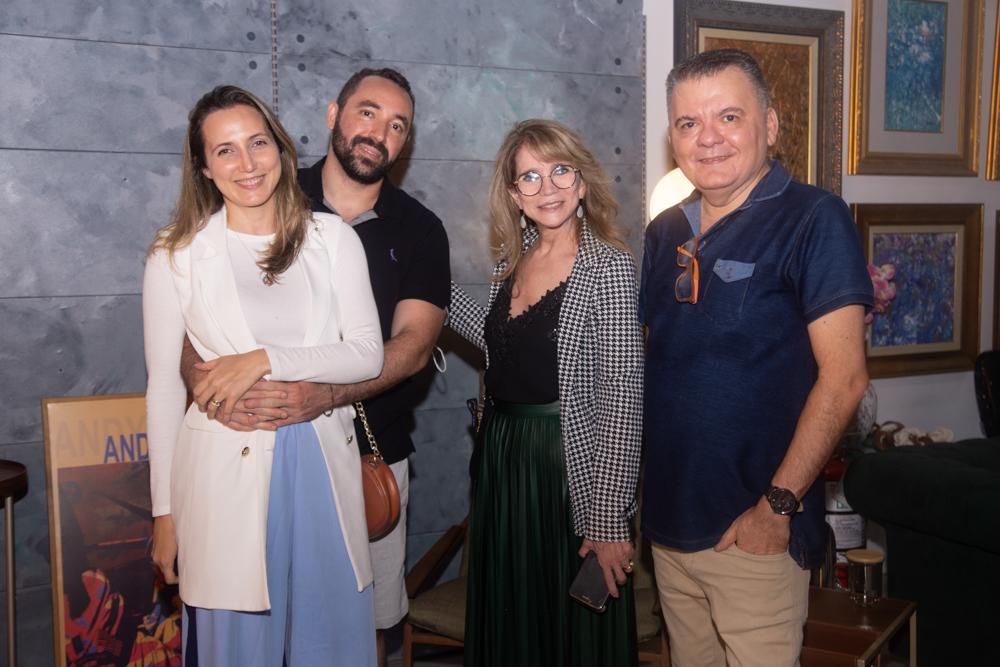 Omar de Albuquerque recebe convidados especiais para o lançamento da Mostra 100% Design