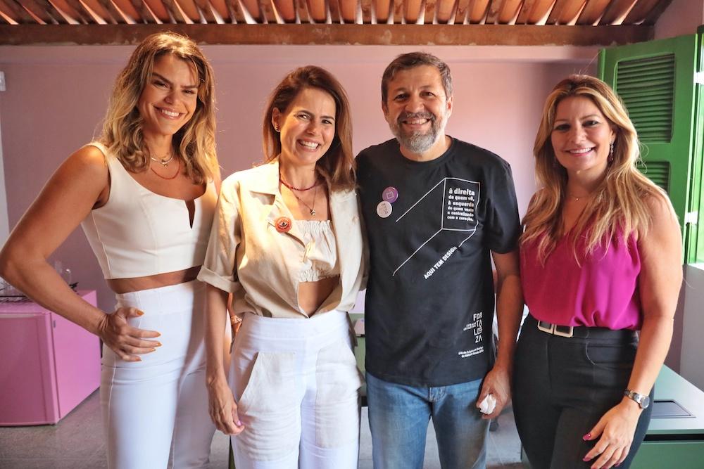 Lana Pinheiro, Luciana Souza, Ëlcio Batista E Tatiana Luna