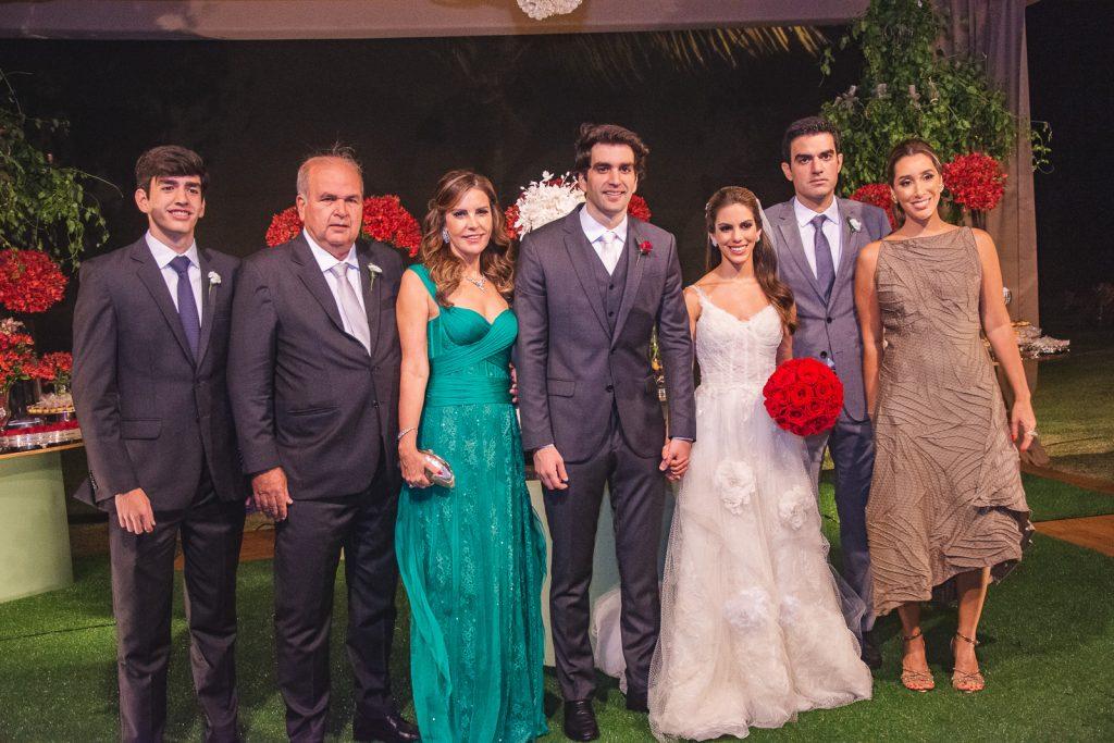 Leonardo Nogueira, Haroldo Diogo, Rosele Diogo, Raphael Nogueira, Manuela Rolim, Rodrigo Nogueira E Manoela Melo
