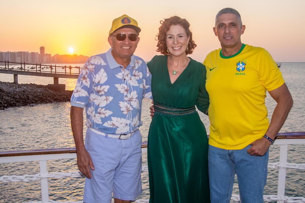 Licinio Correa, Carla Zambelli E Coronel Aginaldo
