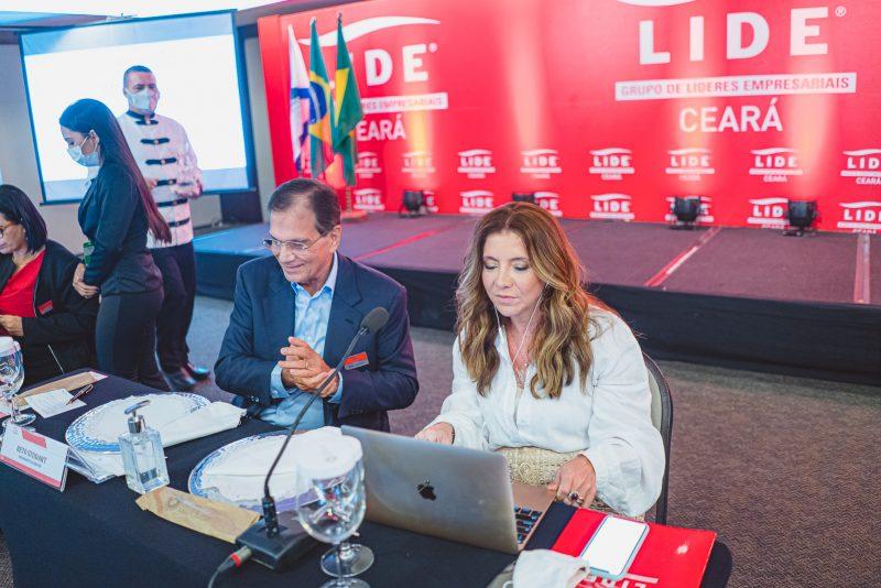 Evento híbrido - Emília Buarque recebe o empresário Jorge Gerdau Johanpetter no almço-debate do Lide Ceará