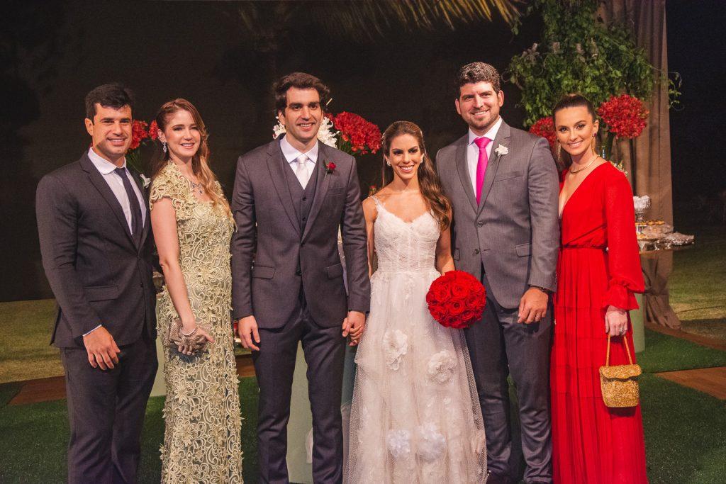 Lucas Nogueira, Livia Nogueira, Raphael Nogueira, Manuela Rolim, Lucas Camara E Laime Camara