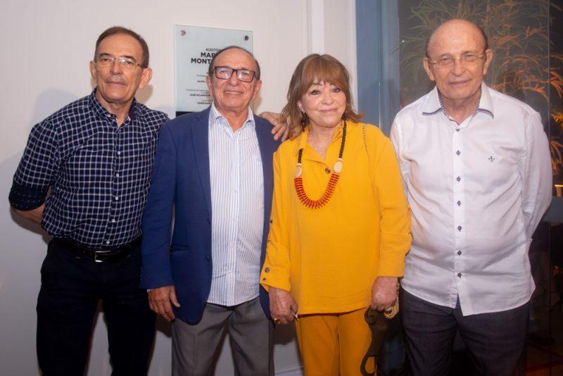 Novo espaço - FIEC inaugura auditório do Sesi Parangaba com homenagem a Marcos Montenegro