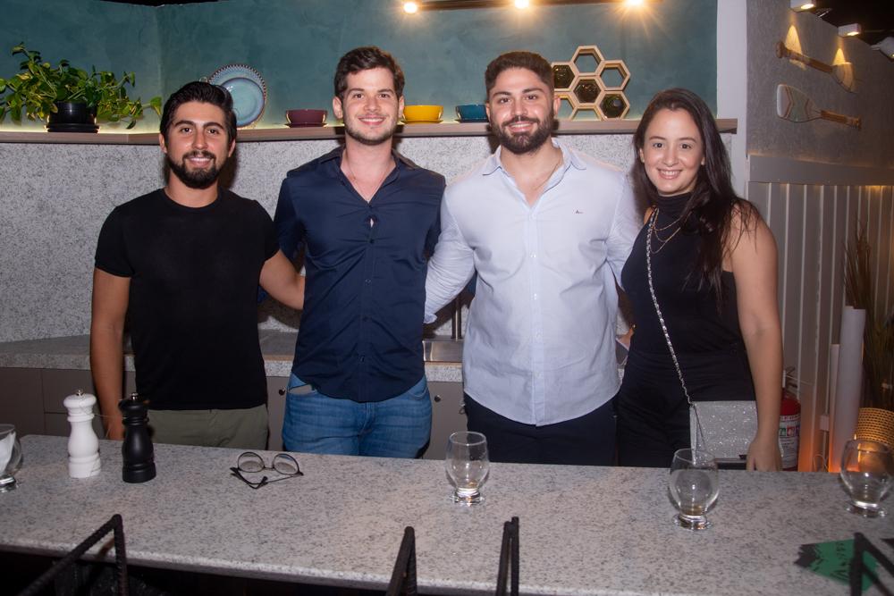 Manoel Perboyre, Matheus Sancho, Alcides Andrade E Amanda Mesquita