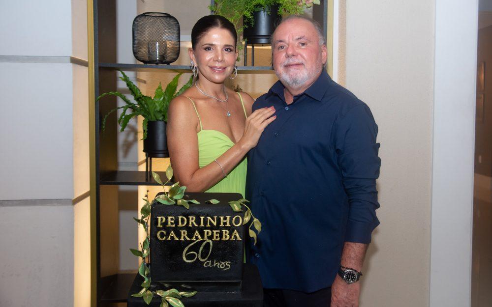 Transbordando alegria e alto astral, Pedro Carapeba brinda seu start nas seis décadas