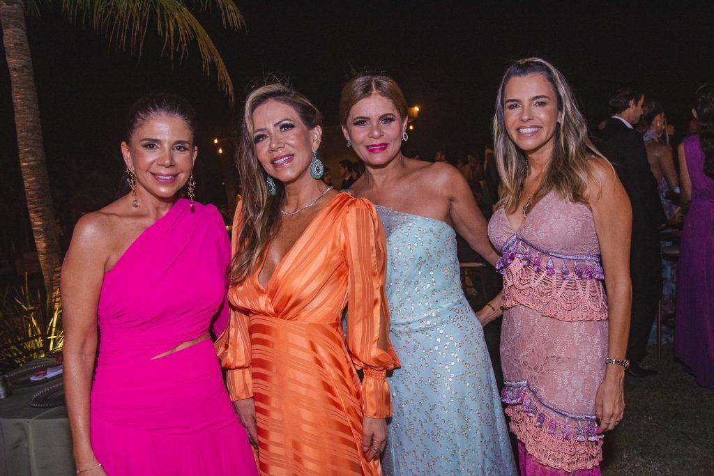 Maria Lucia Negrao, Sakie Brookes, Liliane Linhares E Liliana Rola