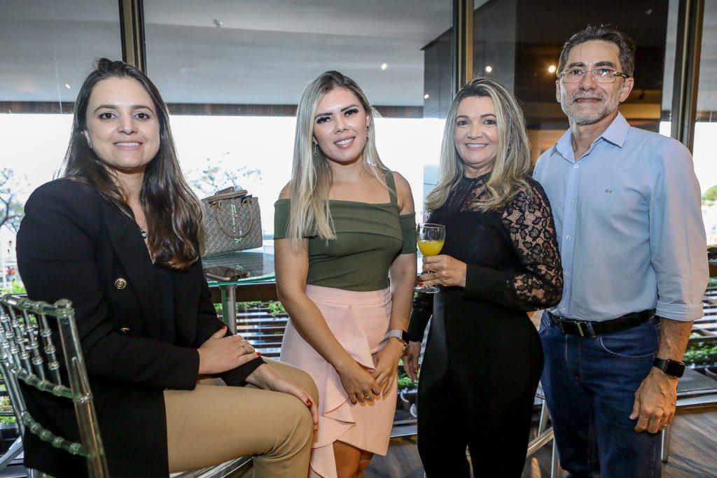 Mariana Ruth, Vladia Arruda, Denisia Almeida E Marcos Barbosa