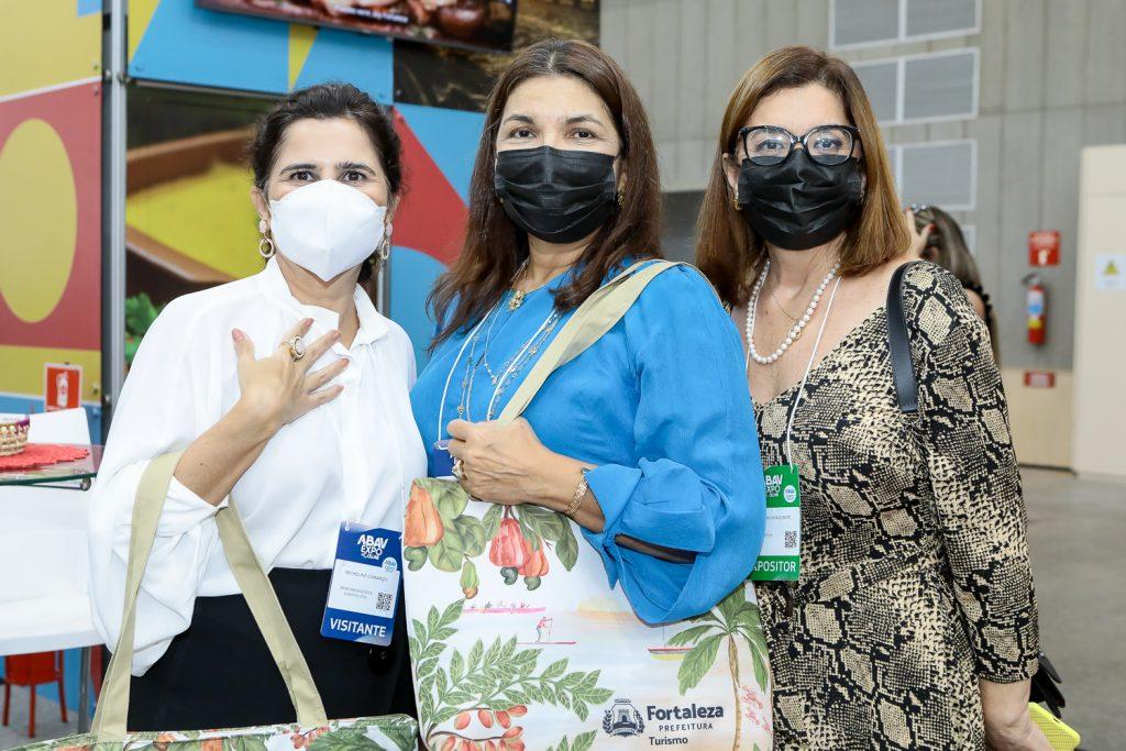 Micheline Camarço, Celina Castro Alves E Valeria Cavalcante
