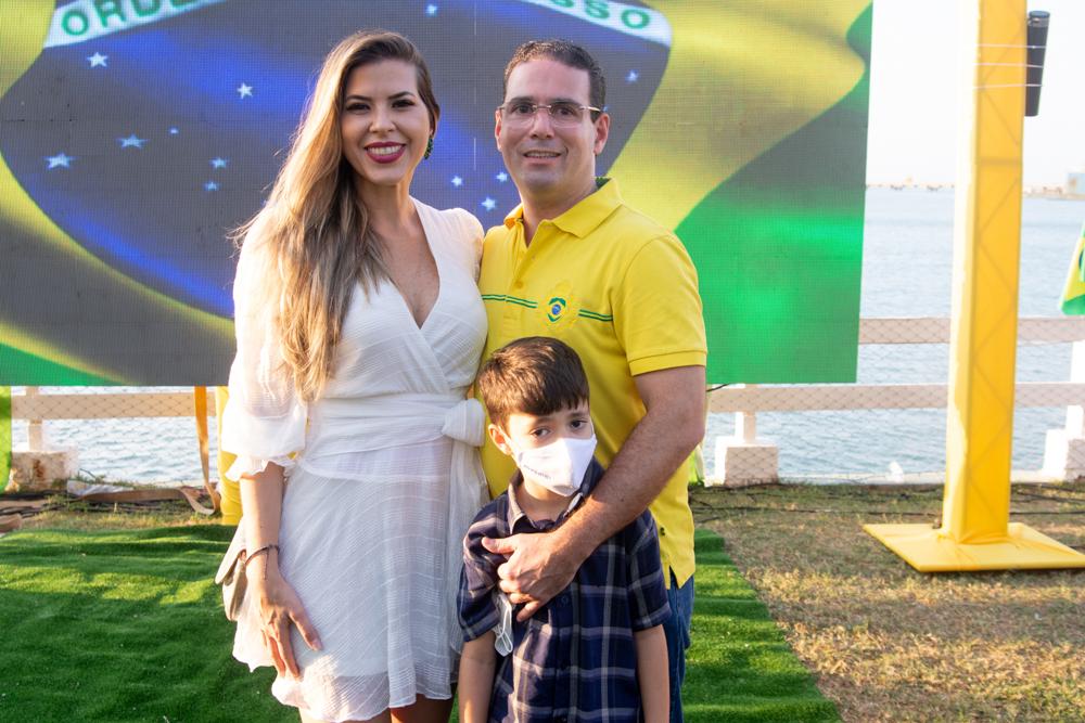Mirena Noronha, Roberto Araújo E Benjamin Araújo