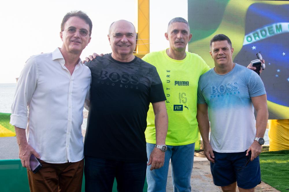 Nicássio Damo, Ricardo Gress, Coronel Aginaldo E Rossine Cartaxo