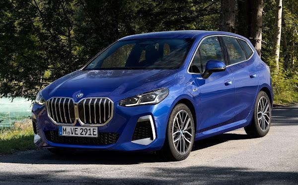 Mais espaçoso e esportivo, BMW Série 2 Active Tourer já surge no Horizonte