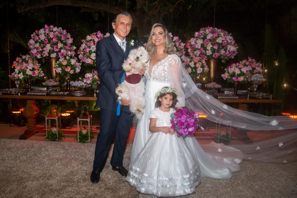 Valeska e Paulo França celebram a união no Pipo Restaurante