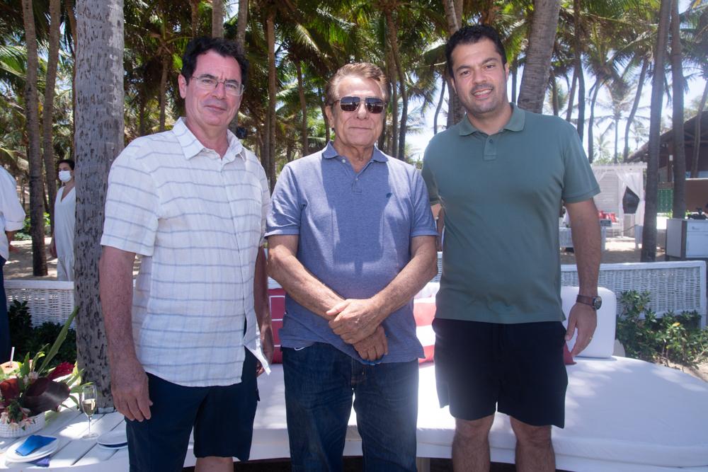 Paulo Menezes, Ivon Levy E Felipe Lima