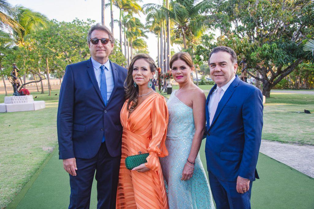 Philip Brookes, Sakie Brookes, Liliana Linhares E Fernando Linhares