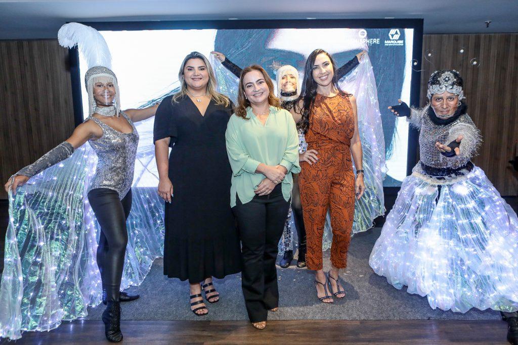 Poliana Nobre, Andrea Coelho E Gabriela Morais