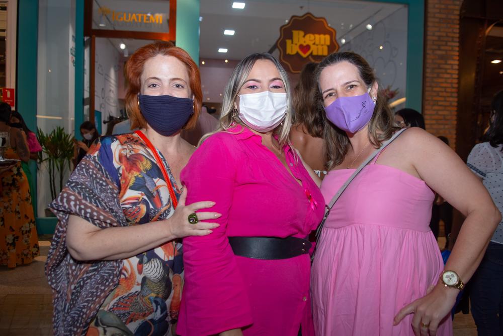 Rachel Mendonça, Eleni Oliveira E Bruna Braun