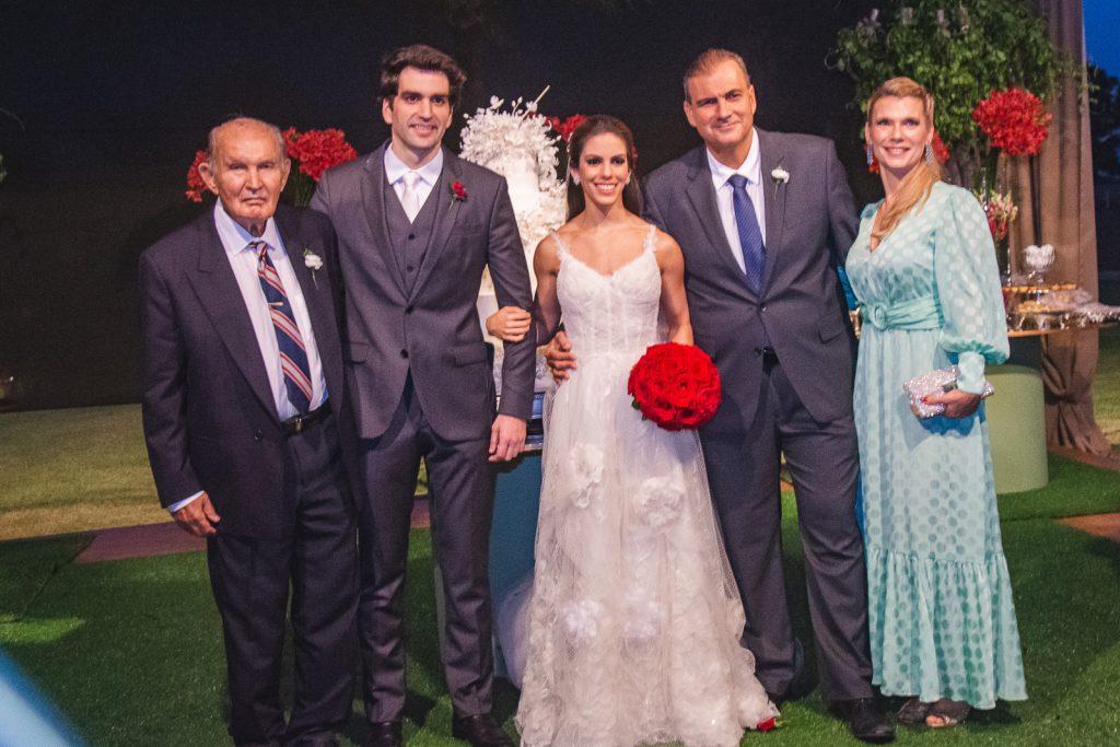Raimundo Sales, Raphael Nogueira, Manuela Rolim, Alexandre Sales E Sofia Sales