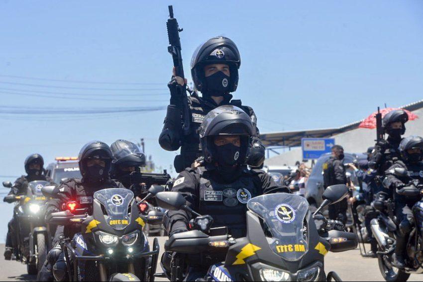 Governo do Ceará entrega a 50ª base do CPRaio no interior e videomonitoramento