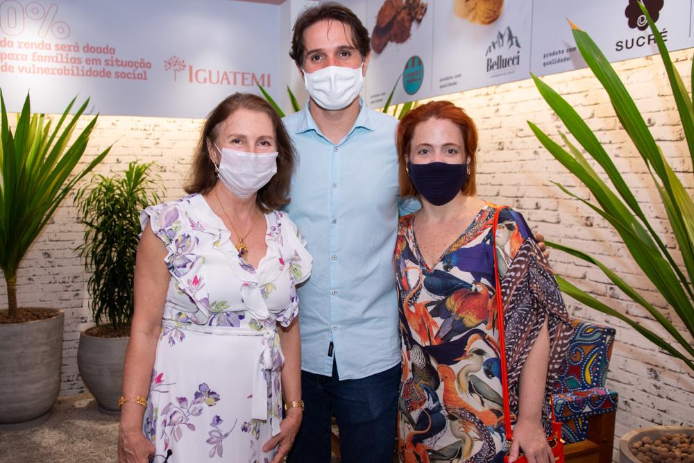 Renata Jereissati, Benjamin Oliveira E Rachel Mendonça