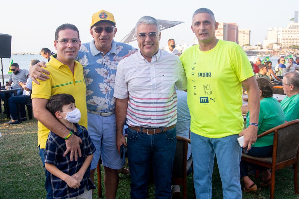 Roberto Araújo, Benjamin Araújo, Licínio Correa, Eduardo Girão E Coronel Aginaldo