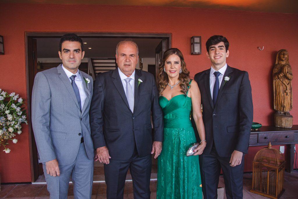 Rodrigo Nogueira, Haroldo Diogo, Rosele Diogo E Leonardo Nogueira