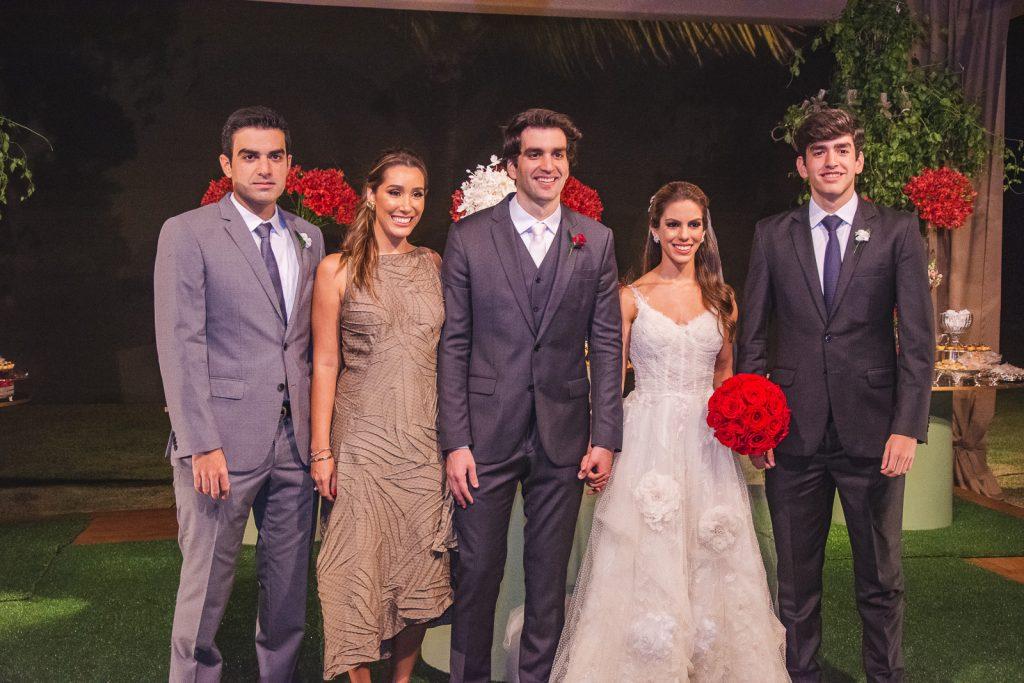 Rodrigo Nogueira, Manoela Melo, Raphael Nogueira, Manuela Rolim E Leonardo Nogueira