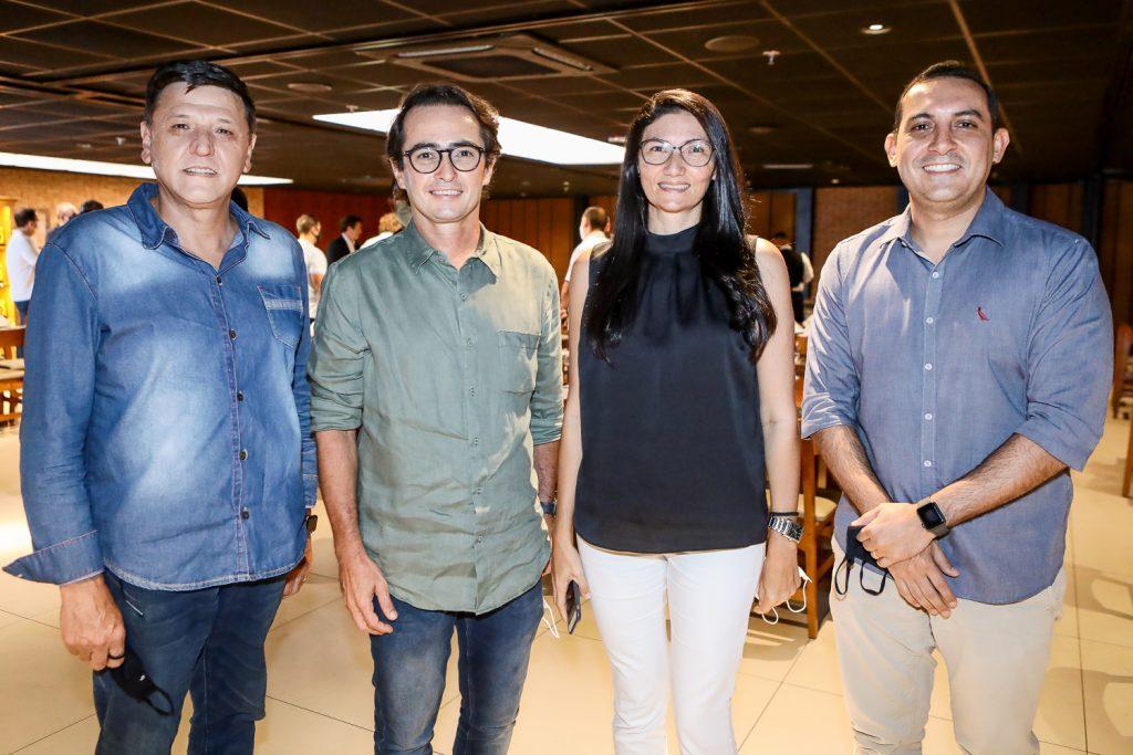 Ronaldo Vasquez, Diacomo Braile, Cristiane Calixto E Elias Tain