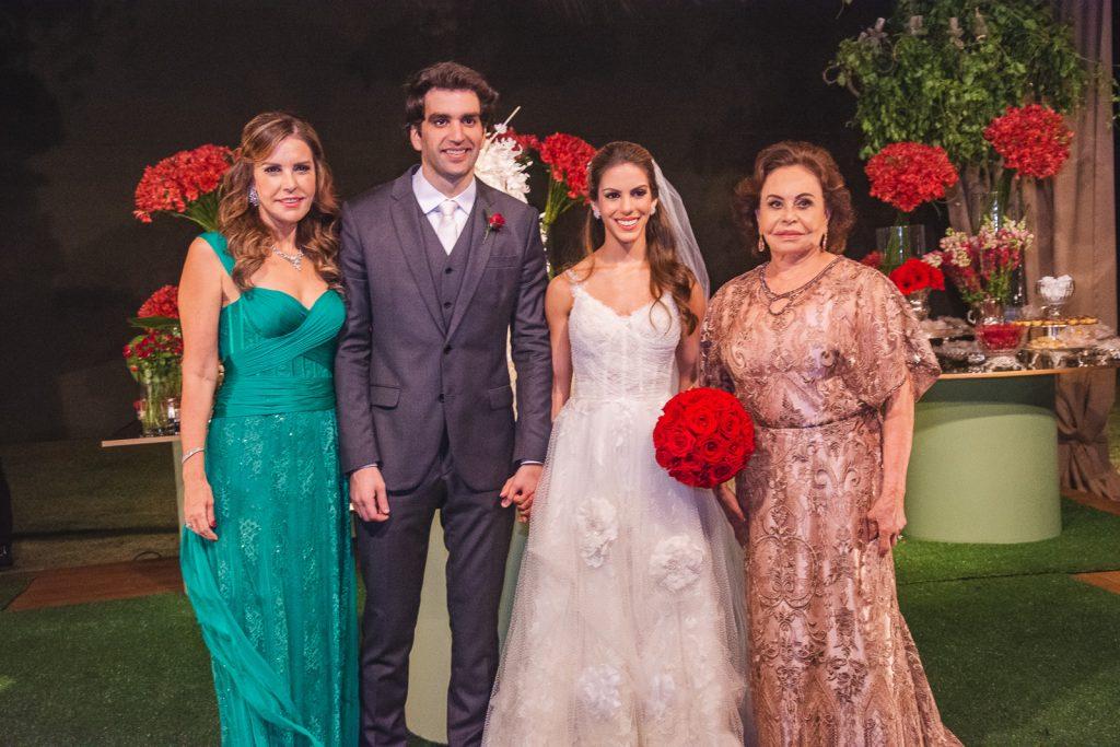 Rosele Diogo, Raphael Nogueira, Manuela Rolim E Marly Nogueira
