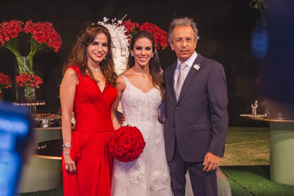 Sandra, Manuela E Eduardo Rolim