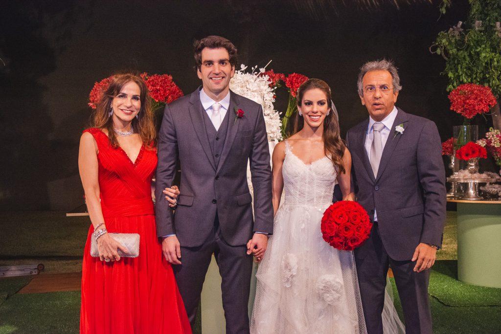 Sandra Rolim, Raphael Nogueira, Manuela Rolim E Eduardo Rolim