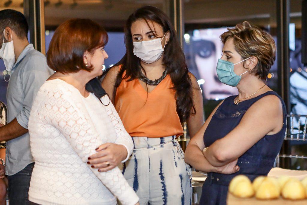 Sandra Vince, Patricia Minerva E Larissa Rolim