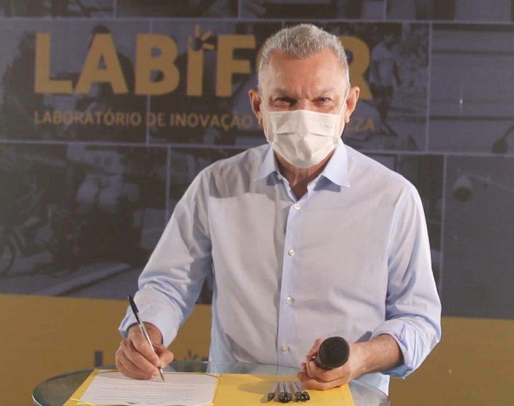 José Sarto lança o LabiFor e autoriza o início da construção do Skatepark