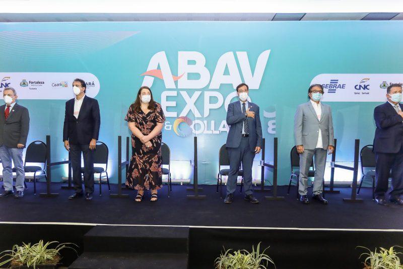 Sarto Nogueira, Camilo Santana, Magda Nassar, Gilsom Nogueira, Arialdo Pinho E Alexandre Sampaio