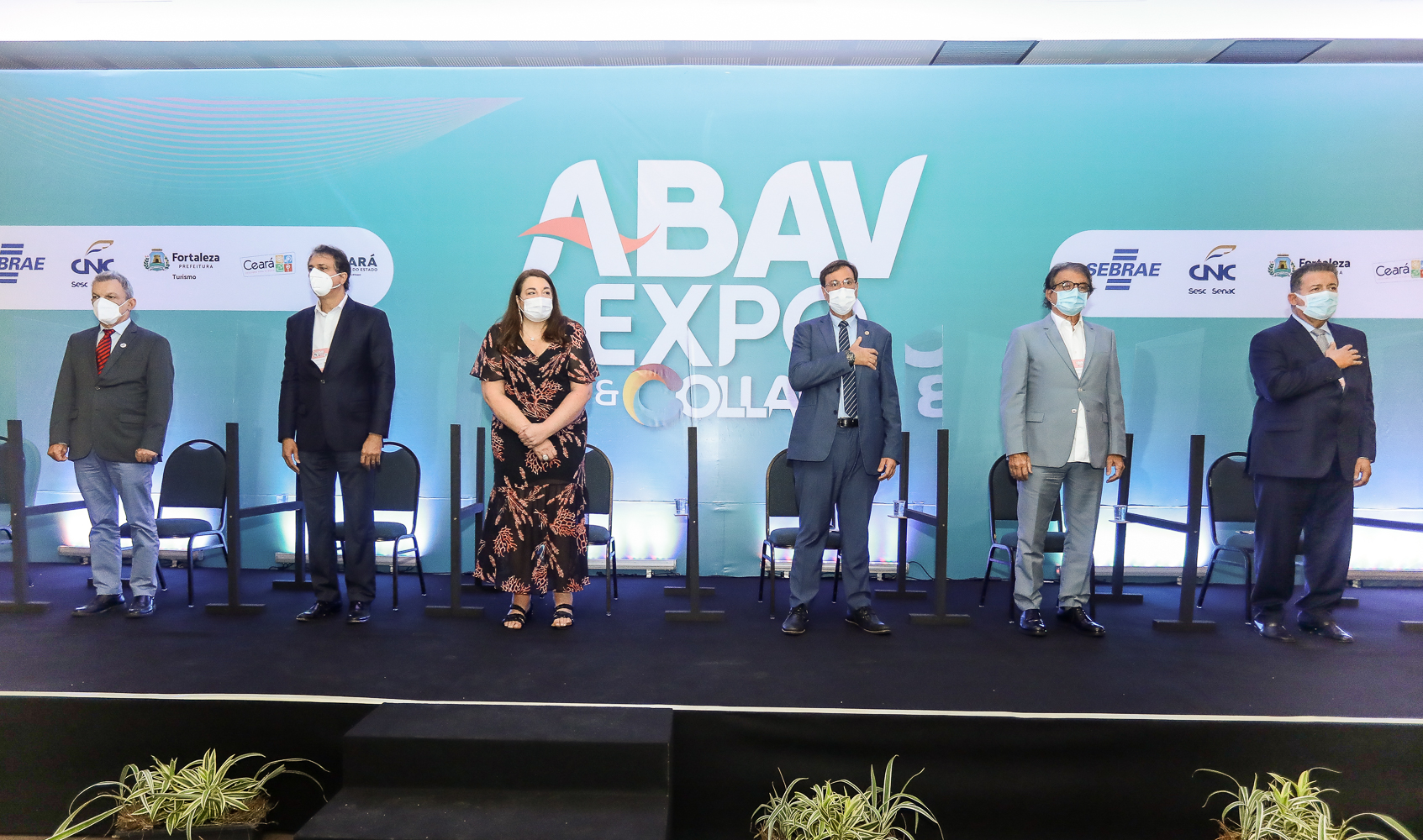 Reunindo os principais players do setor de turismo, Abav Expo 2021 tem start no Centro de Eventos do Ceará