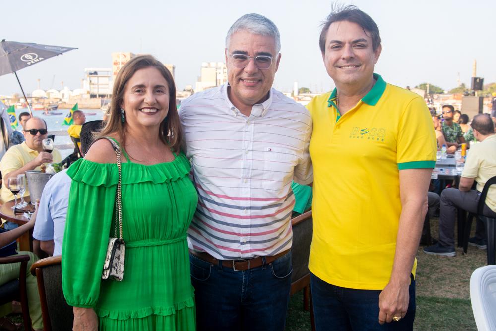 Teresa Porto, Eduardo Girão E Tarcisio Porto