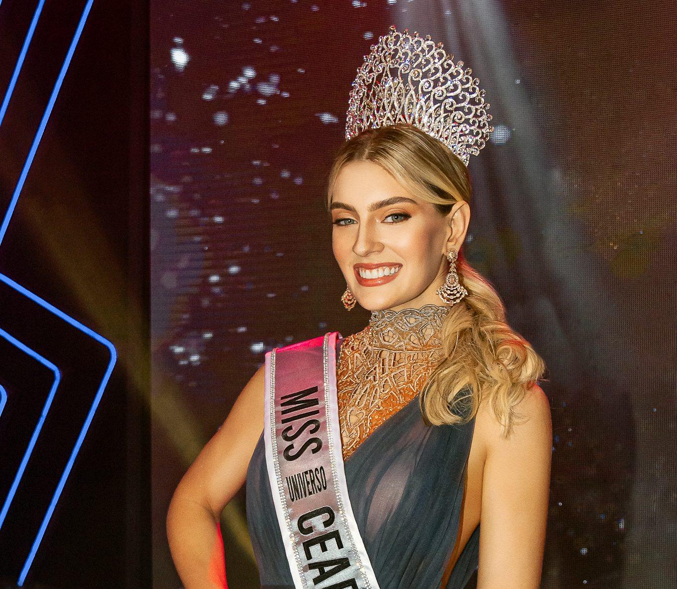 Teresa Santos é eleita Miss Universo Ceará 2021