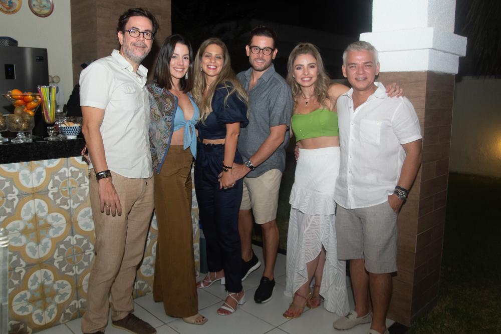 Thales Catunda, Carla Brasil, Mariana Dafonte, Felipe Bezerra, Danielle E Cristiano Peixoto
