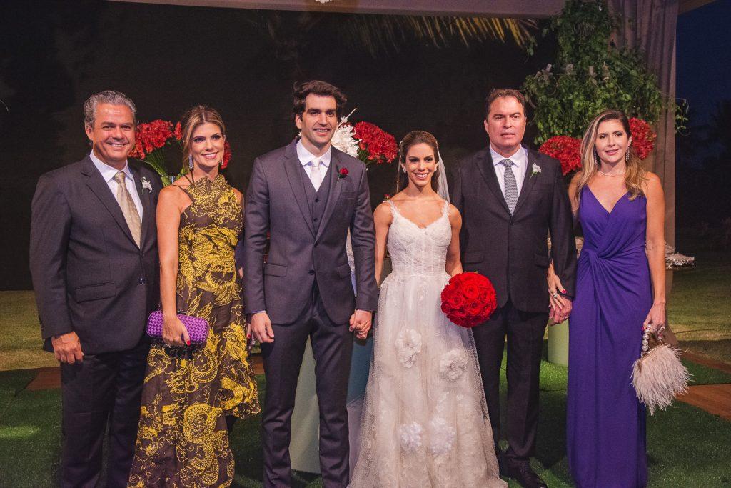 Vicente De Castro, Ines Castro, Raphael Nogueira, Manuela Rolim, Bertrand Boris E Patricia Boris
