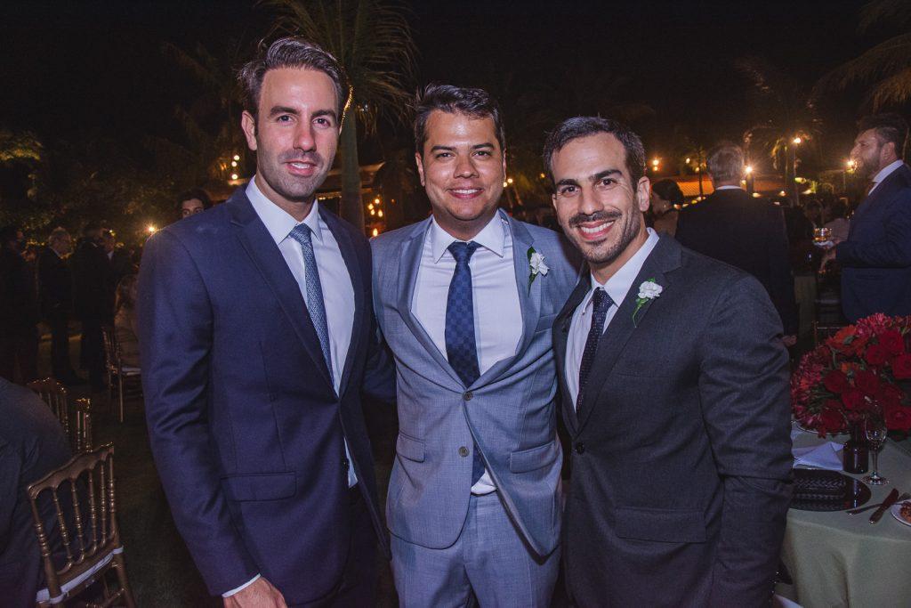 Vitor Frota, Ronaldo Aguiar E Sergio Rolim