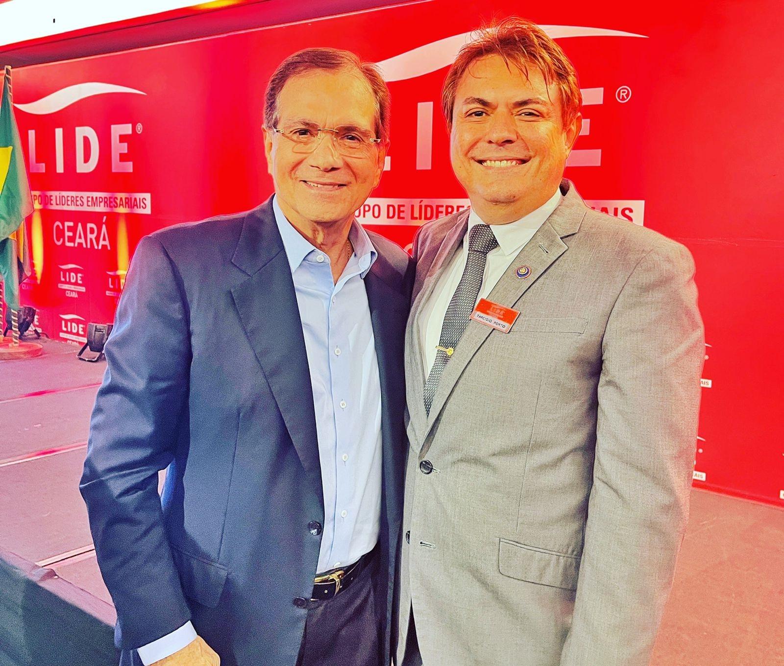 Tarcísio Porto e Beto Studart participam de evento de líderes empresariais com Jorge Gerdau